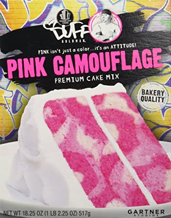 Duff Decorating Mix Cake Pink Camouflage 18 25 Oz