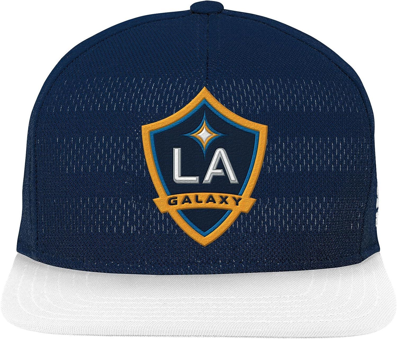 Jugendliche Teamfarbe Outerstuff MLS Los Angeles Galaxy Youth Authentic Flatbrim Snapback Einheitsgr/ö/ße