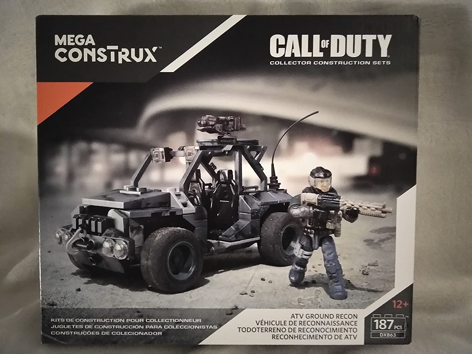 Amazon.com: Call Of Duty Collector Construction Sets Mega ...