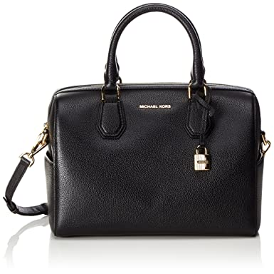 21a2a9089fc7 Image Unavailable. Image not available for. Color  Michael Kors Women s Mercer  Medium Leather Duffel Bag ...
