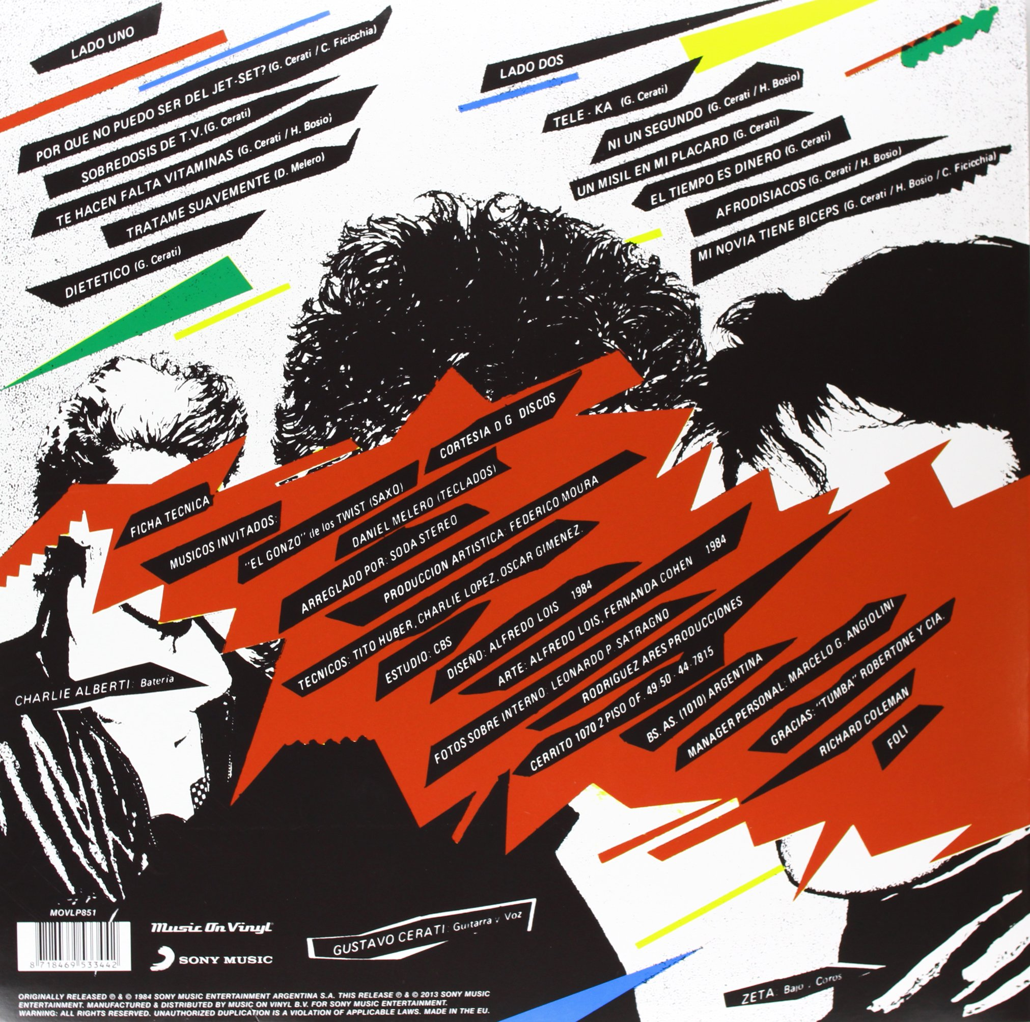 Soda Stereo by Music on Vinyl
