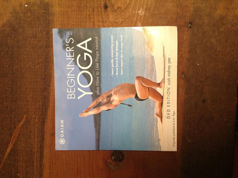 Amazon.com: Rodney Yee: Beginners Yoga plus How to Use ...