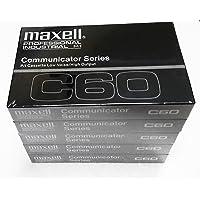 Maxell Communicator Series C60 Cassette Tape 5/Packs