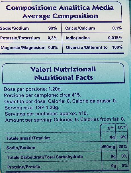 Amazon.com : Sosalt Seasalt Crystals, Riserva Naturale, 2.2 Pound (Pack of 12) : Grocery & Gourmet Food