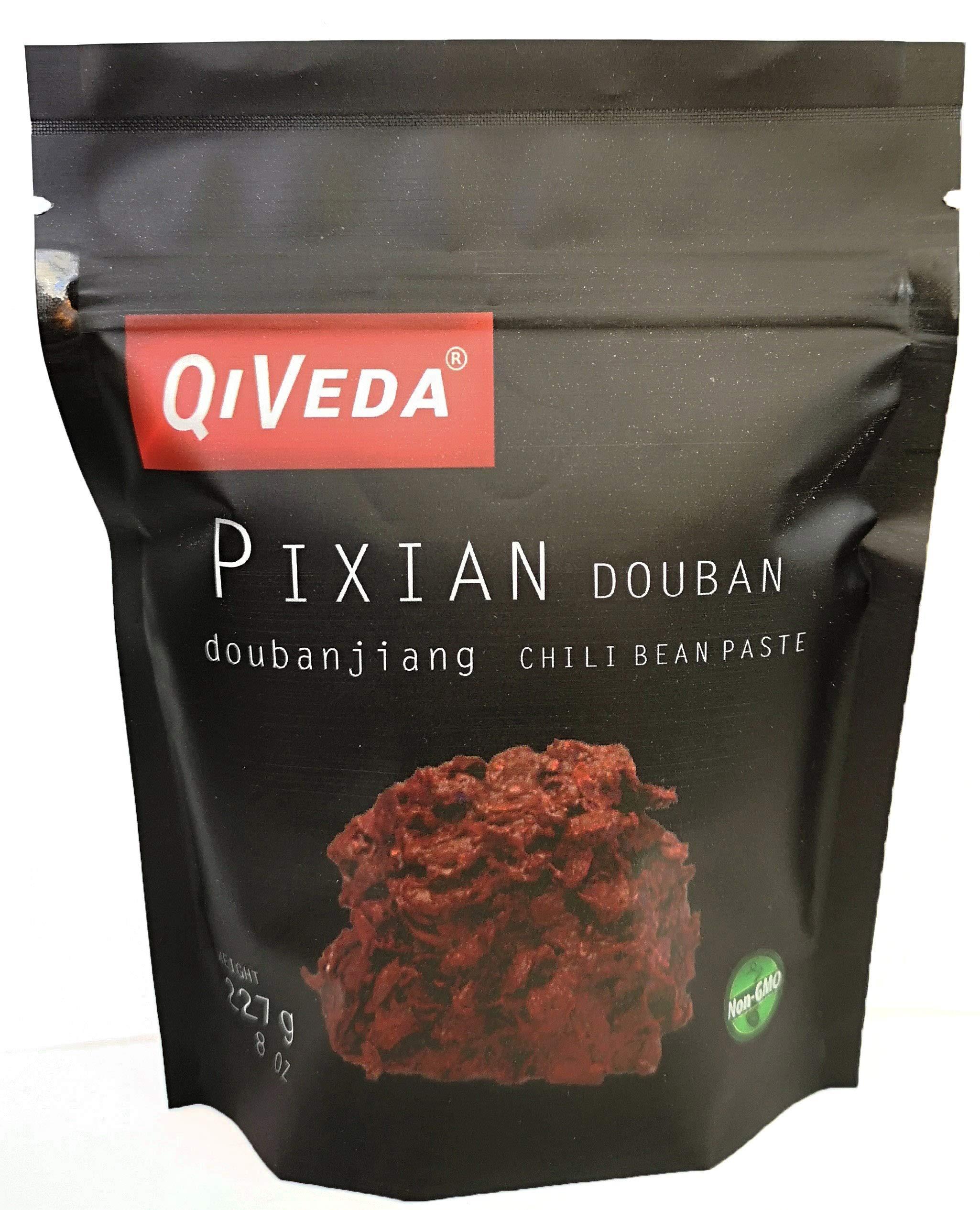 QiVeda Pixian Douban (Chili Bean Paste) [Doubanjiang] (8 oz.)