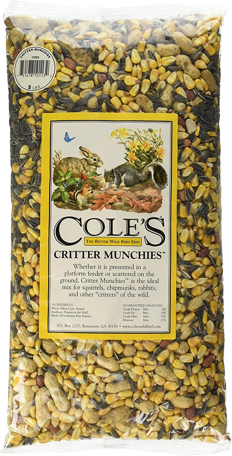 Cole's CM05 Critter Munchies, 5-Pound