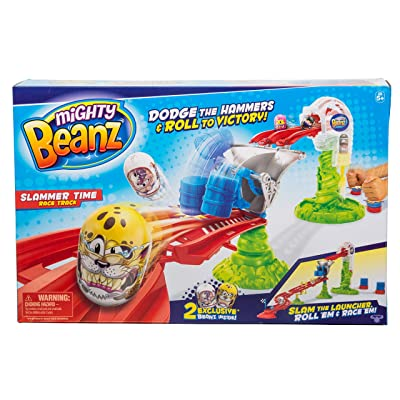 Mighty Beanz Slammer Time Race Track: Toys & Games