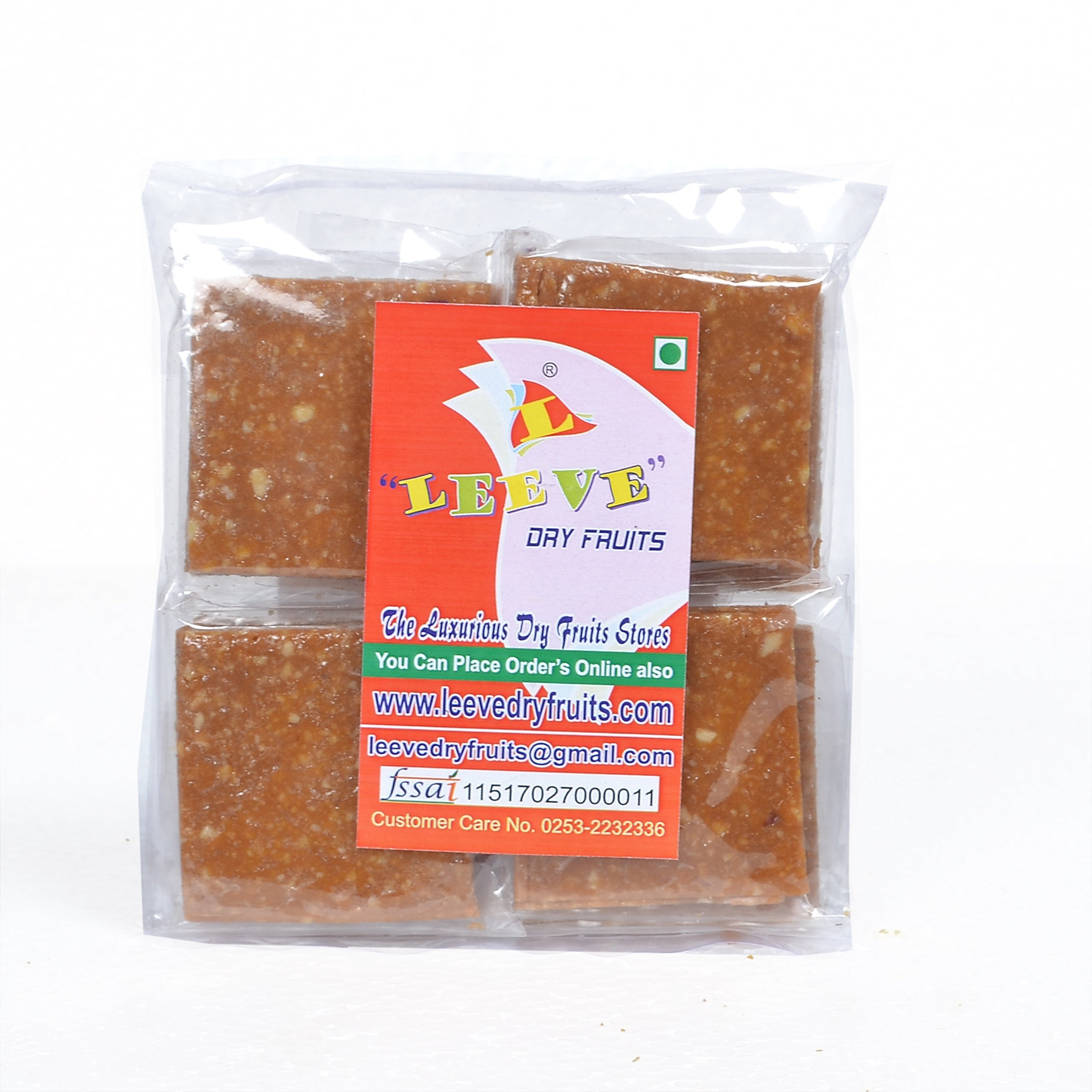 Leeve Dry Fruits Peanut Crush Chikki - 400 Gms