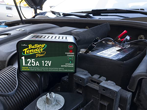 Battery Tender Plus 021-0128 is one of the best car battery chargers to use for a wide range of automobiles.