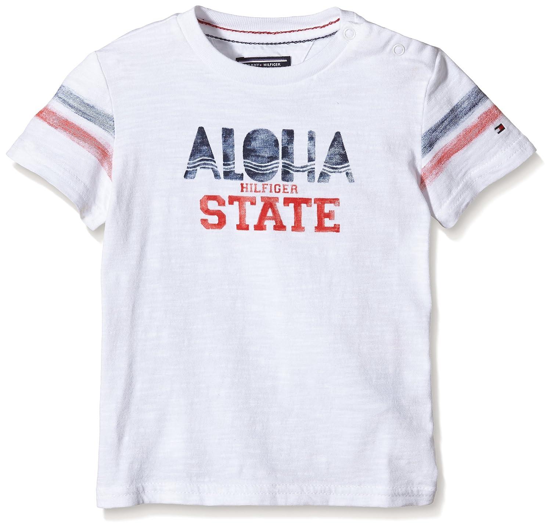 82f87b90162 El servicio durable Tommy Hilfiger State CN tee S S - Camiseta Niñas ...
