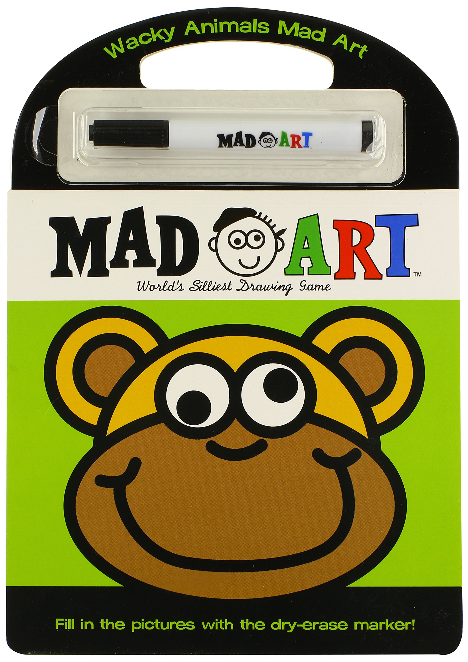 Read Online Wacky Animals Mad Art PDF