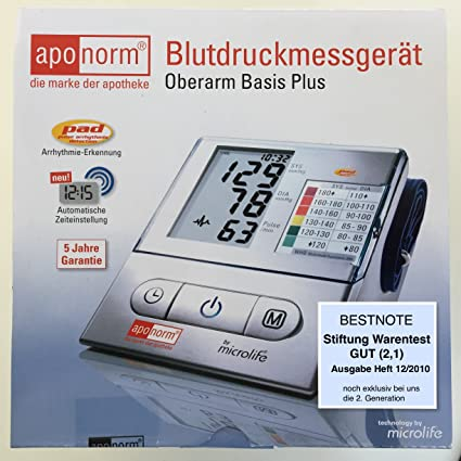 Wepa Aponorm Basis Plus - Tensiómetro de antebrazo