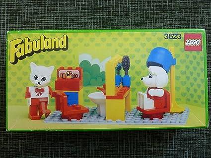 Amazoncom Lego Fabuland Beauty Salon 3623 Toys Games