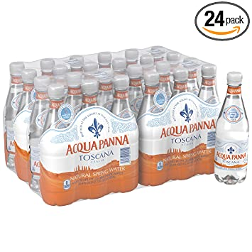 acqua panna natural spring water 16 9 ounce pack of 24 amazon