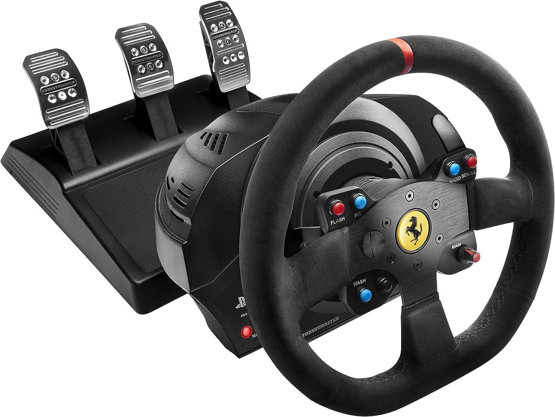 Thrustmaster T300 Ferrari Integral Alcantara Edition: Amazon.es: Electrónica