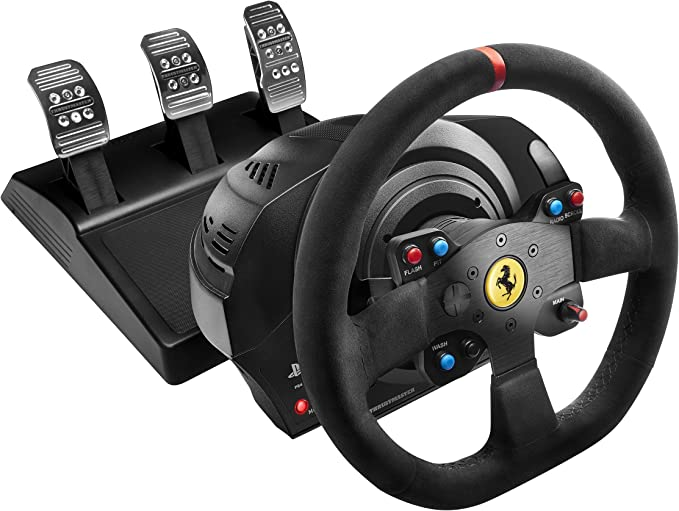 Thrustmaster T300 Ferrari Integral Alcantara Edition: Amazon.es ...