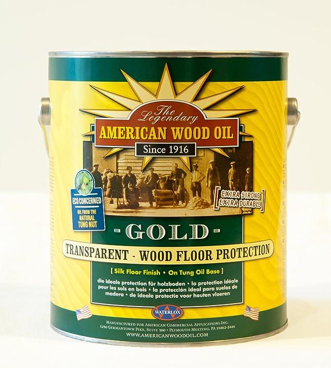 TUNG-Nussöl Transparent Gold (klassisch) 1/4 Gallone: Amazon.de ...