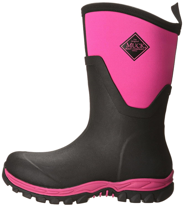 Muck Boot Women's Arctic Sport II Mid Snow B00TT36LI4 5 B(M) US|Black/Pink