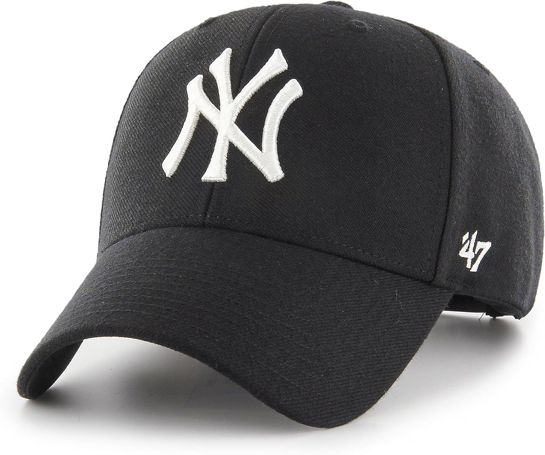 MLB New York NY Yankees NY Cap Basecap Baseballcap MVP Branson ganz schwarz