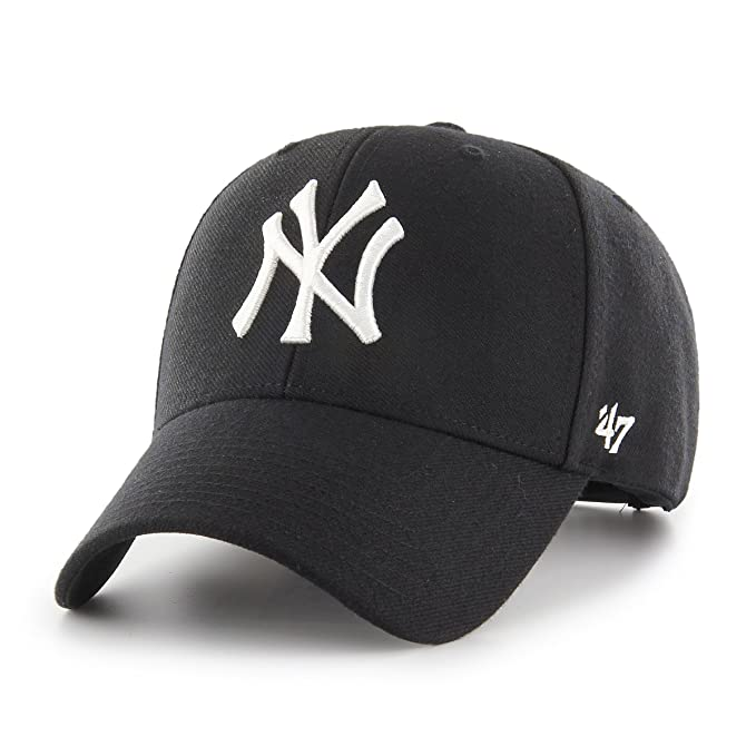 47 Brand Cappellino MVP Snapback Yankees Baseball cap Taglia Unica - Nero 8747f320a707