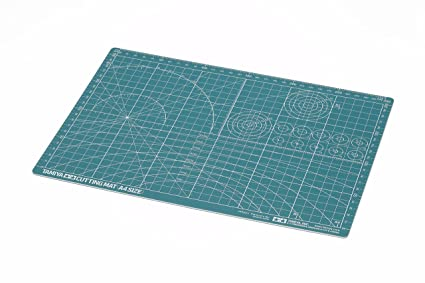 Tamiya 300074118 Cutting Mat A4 Green