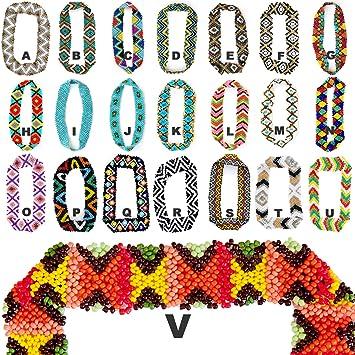 Amazon.com   Bulk Wholesale Lot New Custom Native American Elastic Stretch  Seed Bead Headband (5X Headbands) by Sizzle City   Fashion Headbands    Beauty fdefbfe0e31
