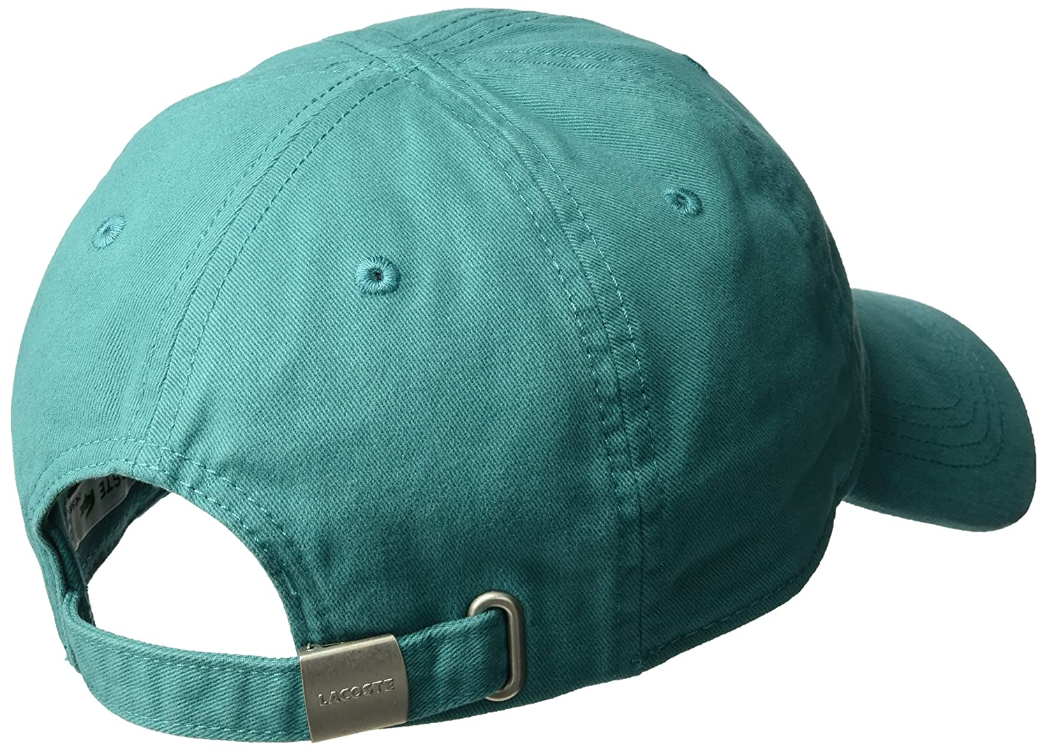 cd4d9de9eb7 Lacoste Men s Big Croc Gabardine Cap