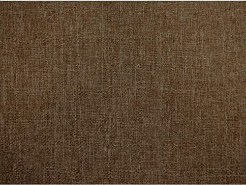 DCG Stores Umax Linen Texture Pecan 24 Throw Pillows Set of 2, Proudly Made in USA