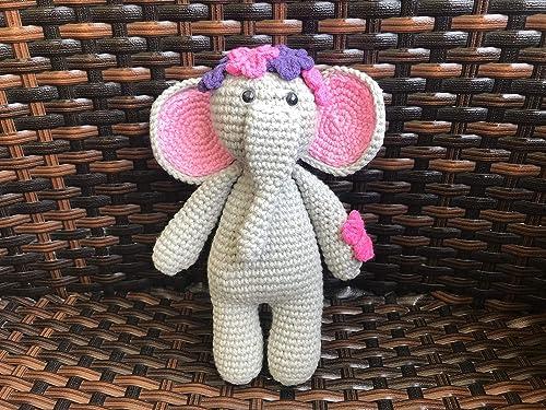 Red Heart E885. 9745 Amigurumi Yarn, Elephant: Amazon.ca: Home ... | 375x500