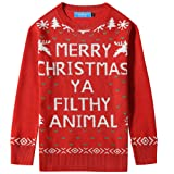 Amazon Price History for:SSLR Big Boys' Funny Xmas Pullover Crewneck Ugly Christmas Sweater