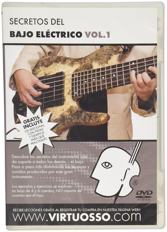 Virtuosso Electric Bass Method Vol.1 (Curso De Bajo Eléctrico Vol.1) SPANISH ONLY Sky Blue Telemarketing Inc. BE1