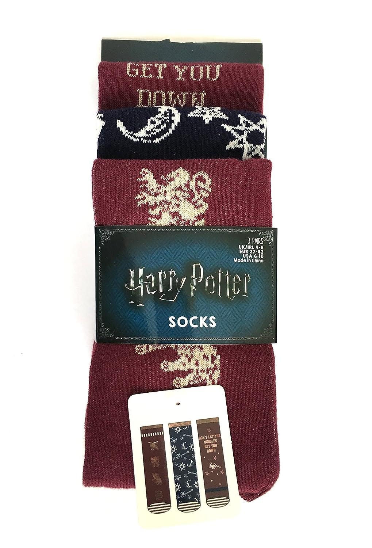 Harry Potter - Calze - Donna multicolore Multicoloured Medium: Amazon.it:  Abbigliamento