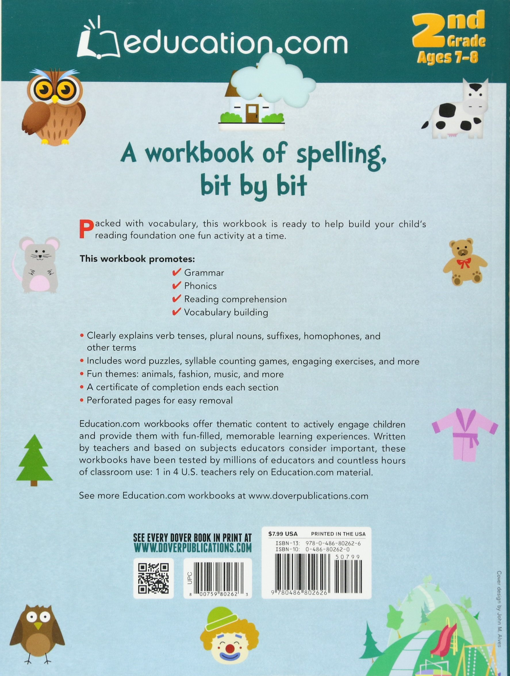 amazon wonderful words a workbook of spelling bit by bit