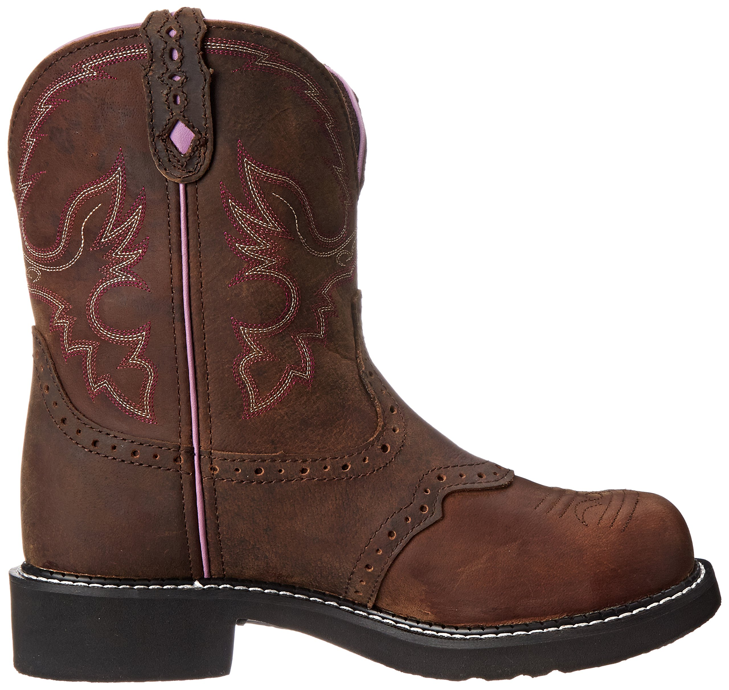 Justin Boots Women's Gypsy Collection 8'' Steel Toe,Aged Bark,6B by Justin Boots (Image #7)