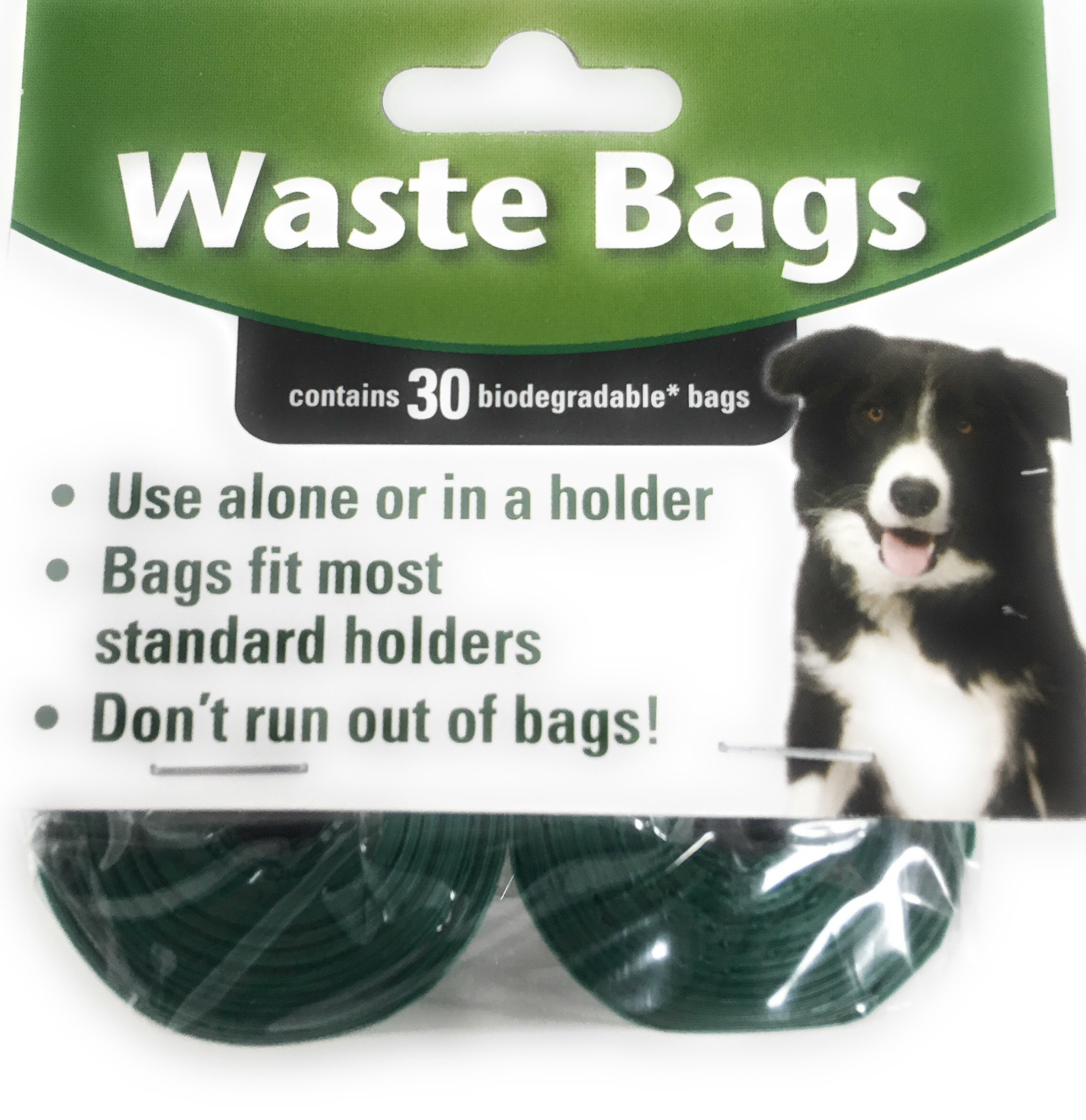 Exclusive Gifts Toys & More Biodegradable Waste Bag Refill Roll Set- Environmentally Friendly | Use Alone or in a Holder | Bags Fit Most Standard Holders | 15 Rolls, 150 Bags (Unscented Poop Bags)