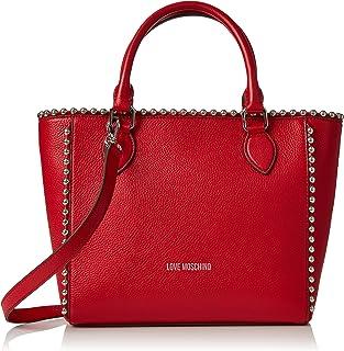 Love Moschino Borsa Vitello Pebble Rosso, Sacs portés épaule femme, Rouge (Red), 9x25x36 cm (B x H T) Sacs portés épaule femme JC4126PP15L20500