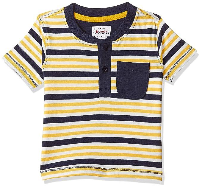 Baby Boys' Striped Regular Fit T-Shirt