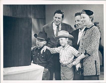 amazon com vintage photos 1955 photo will rogers jr cowboy actor