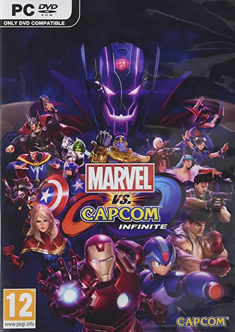 Marvel vs. Capcom: Infinite pc dvd-ის სურათის შედეგი