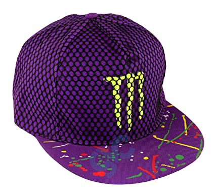GVC Unisex Embroidered Monster Snapback Hip-Hop Net Cap (Purple)  Amazon.in   Clothing   Accessories 1a252e08c7dd