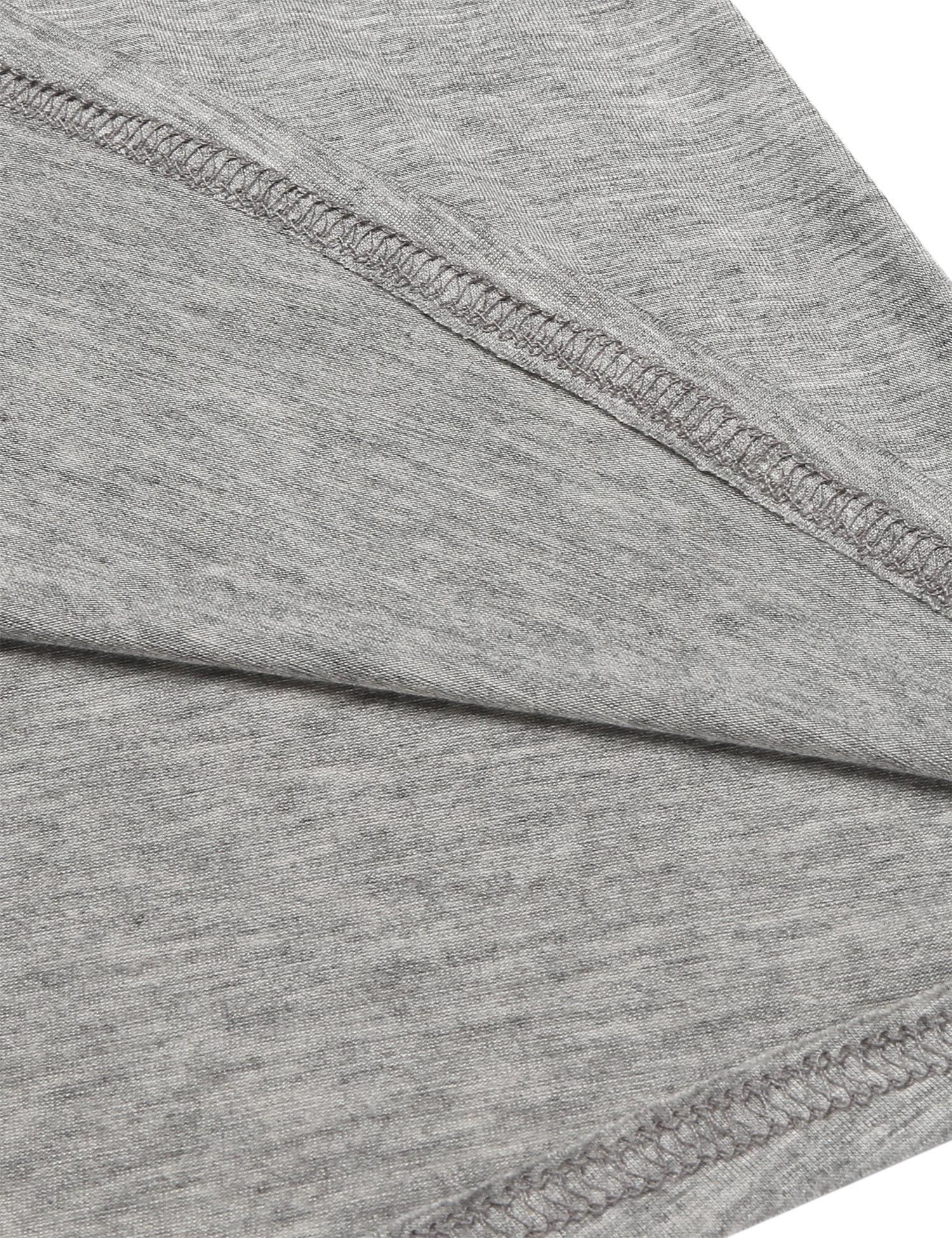 Ekouaer Babydoll Chemise Womens Viscose Knit Sleepwear Nightshirt Slip Grey S