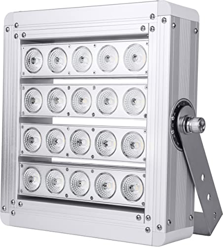 Hyperikon Pro LED Stadium Light, 200W Outdoor Arena Flood Light, 800W-1000W Equivalent ETL, DLC