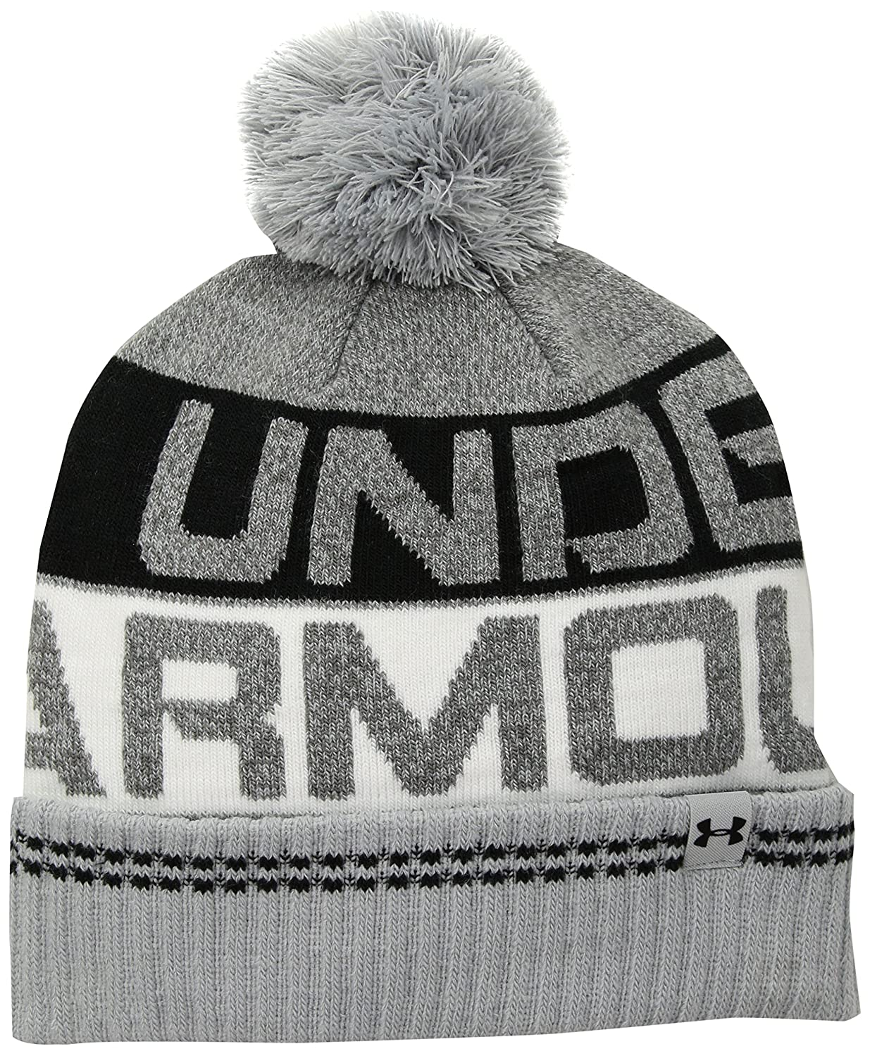 984908eaa2f Amazon.com  Under Armour Mens Retro Pom beanie 2.0  Sports   Outdoors