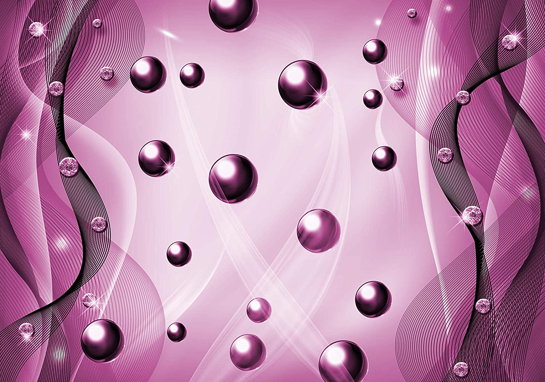 Wandmotiv24 Fototapete Kugeln Schwarz Diamanten Diamanten Diamanten Perlen abstrakt 3D Effekt M1798 L 300 x 210 cm - 6 Teile Wandbild - Motivtapete B07KLSM7GL Wandtattoos & Wandbilder 7ae85f