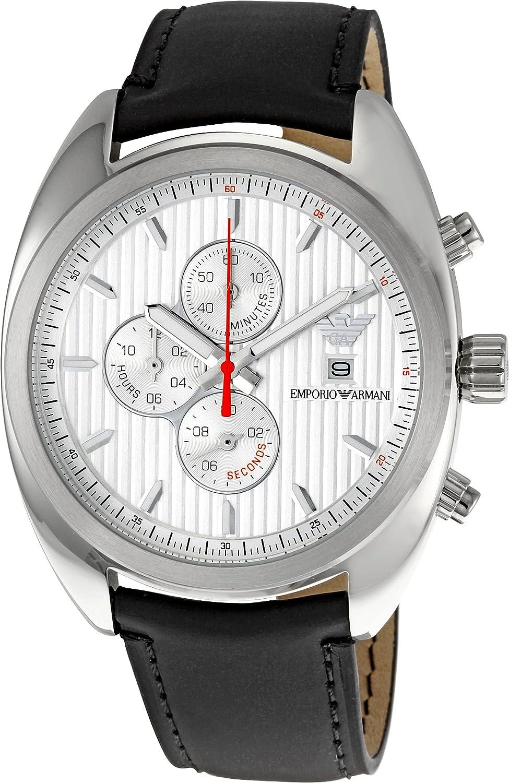 Emporio Armani Men s AR5911 Casual Silver Dial Watch
