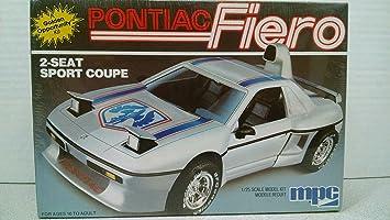 MPC 6309 U002786 Pontiac Fiero 2 Seat Sport Coupe 1/25 Scale Plastic