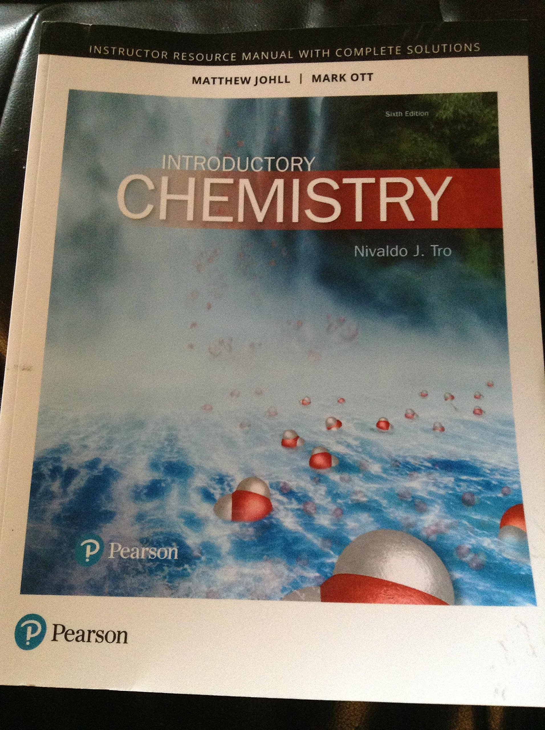 Introduction Chemistry (Instructor Resource Manual with Complete Solutions):  Nivaldo J. Tro: 9780134564050: Amazon.com: Books