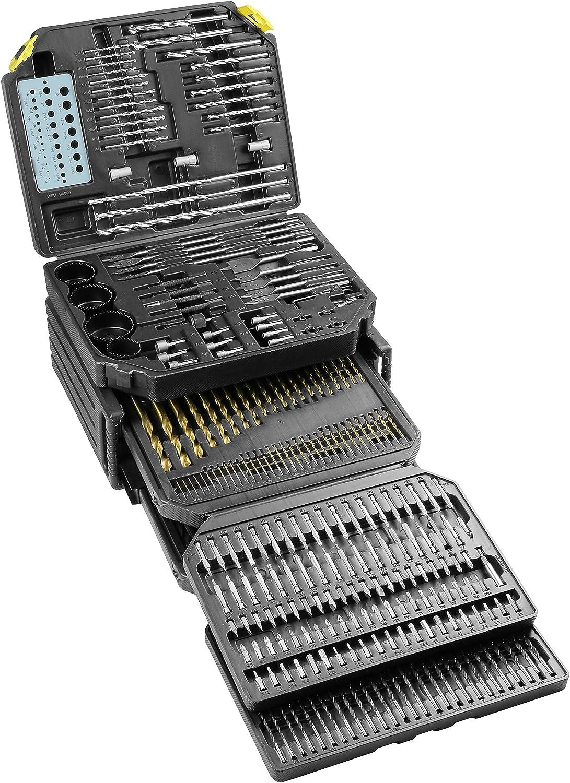 326 Piece Master Drill Bit Set KTI10330 Brand New!