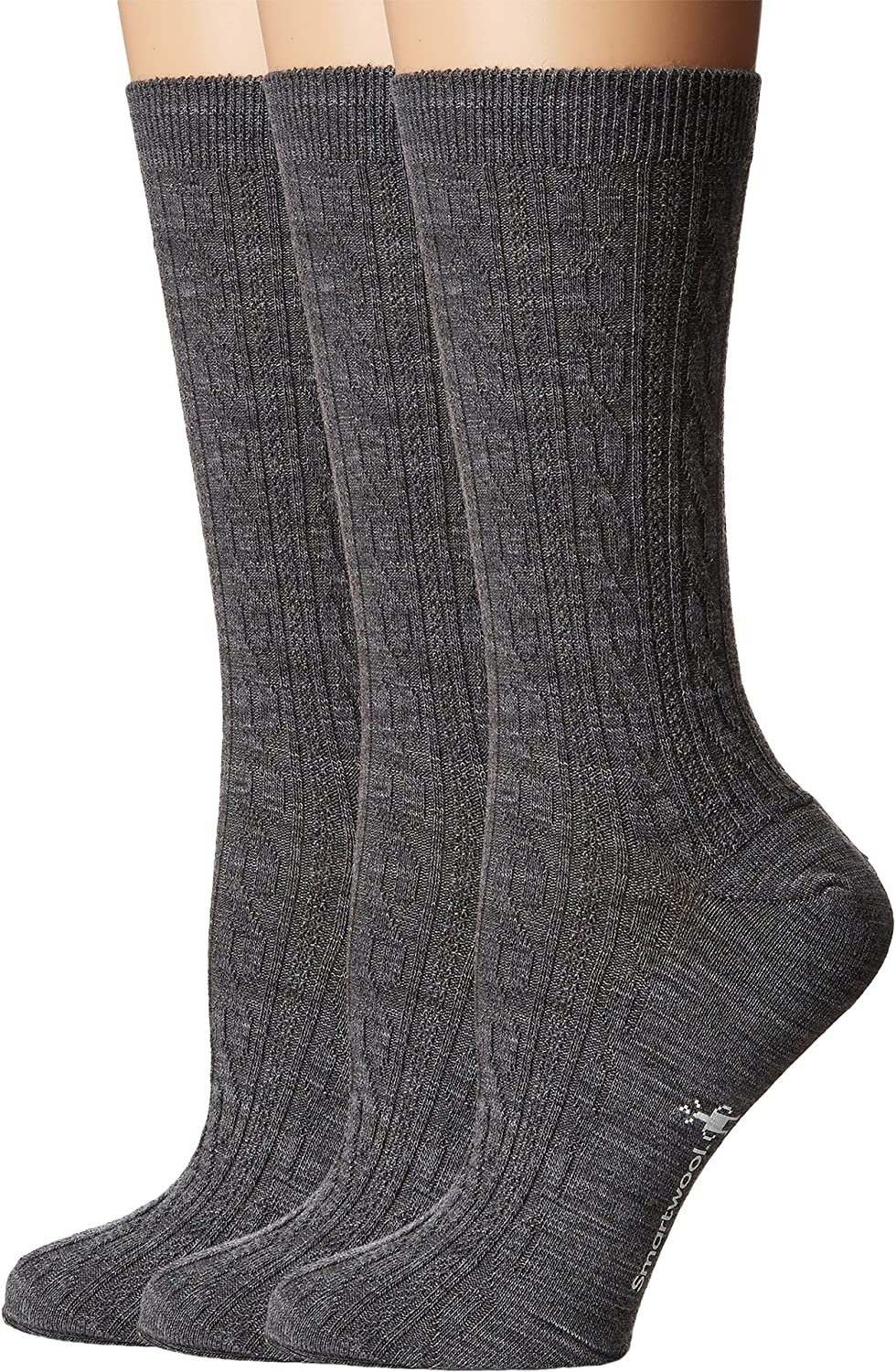 67791f33a762f Smartwool Women's Cable 3-Pack at Amazon Women's Clothing store: