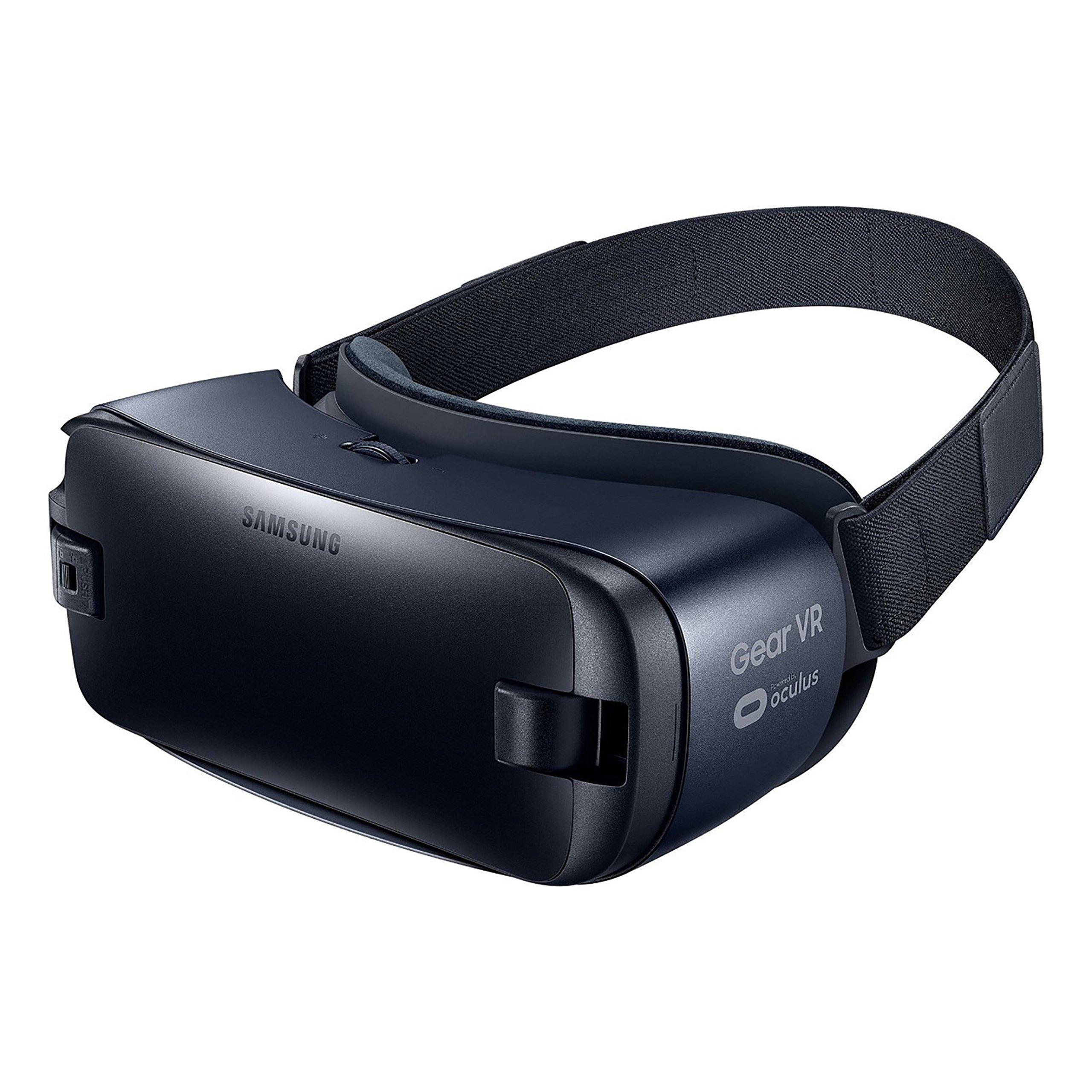 Samsung SM-R323NBKAXAR Gear Virtual Reality 2016 for Galaxy S7, Galaxy S7 edge, Galaxy Note5, Galaxy S6, Galaxy S6 edge, Galaxy S6 edge+ (International Version, No Warranty) - Black by Samsung
